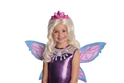 riposa and Her Butterfly Fairy Friends Mariposa Barbie's Catiana Wig with Attached Tiara Costume (Fairytopia Kostüme)
