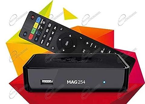 MAG 254 Wlan BOX Player IPTV Internet TV Box SET TOP Multimedia USB HDMI HDTV