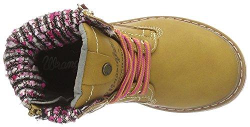 Wrangler Creek Zip Girl, Bottes Classiques fille Jaune - Gelb (24 Tan Yellow)