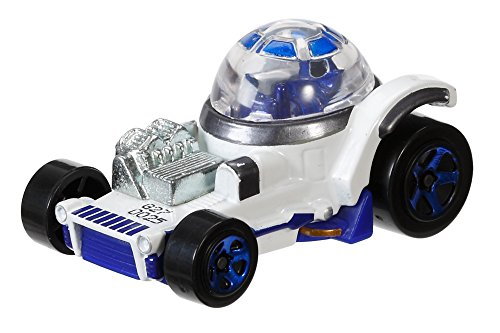 Hot Wheels Star Wars R2-D2 Character Car by Mattel (R2d2 Hotwheel)