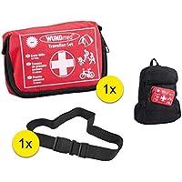Erste Hilfe Survival Kit Verbandkasten Set für Wandern, Reißen, Erstversorgung mit 1x Schnellverschluss Sicherungsband preisvergleich bei billige-tabletten.eu