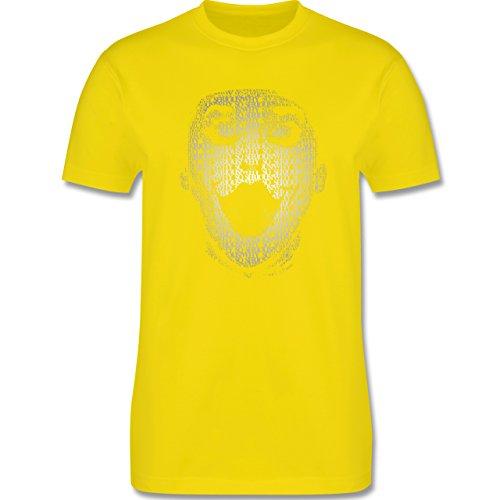 Comic Shirts - Jack Napier - Herren Premium T-Shirt Lemon Gelb
