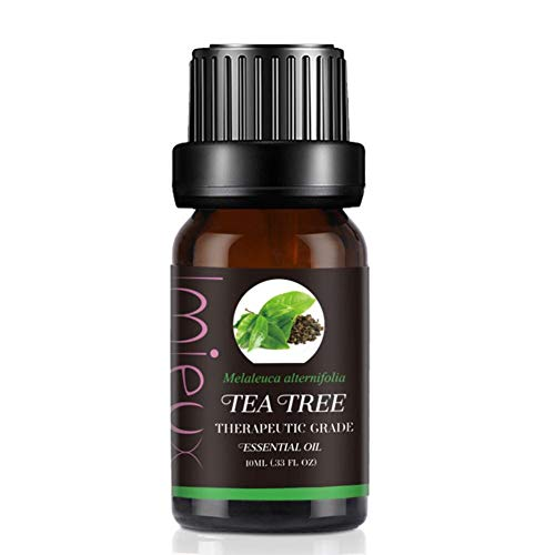 Blue Vesse Aromatherapie Naturreines Ätherisches Öl Besten für Guten Schlaf Schönheit Aromatherapie Entspannung Spa Aroma Diffuser Duftlampe (Tee) - Lavendel-entspannung, Spa