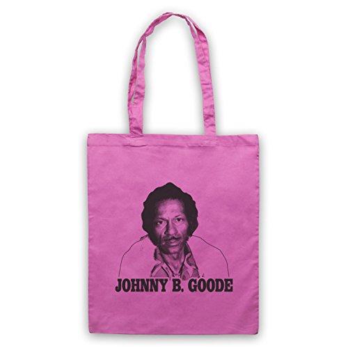 Inspiriert durch Chuck Berry Johnny B Goode Inoffiziell Umhangetaschen Rosa