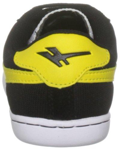 Gola , Chaussure de sport mixte enfant noir/jaune