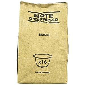 Note D'Espresso Brasile, Capsule per caffè, esclusivamente compatibili con macchine Nescafé* e Dolce Gusto* 7 g x 96