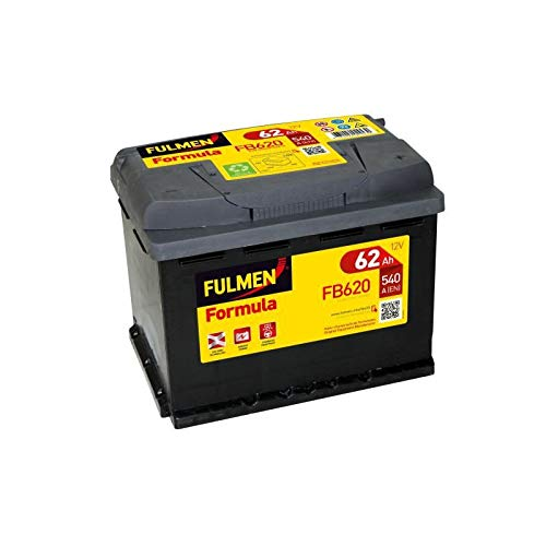 Fulmen - Batterie voiture FB620 12V 62Ah 540A - Batterie(s) - 556400048 ; 5