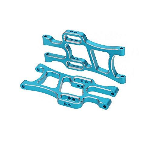 LIUYUNE,108019 1/10 Upgrade Teile Blau Aluminium Vorder Unterer Querlenker Für HSP RC Auto(Color:Blau) - Upgrade Festplatte