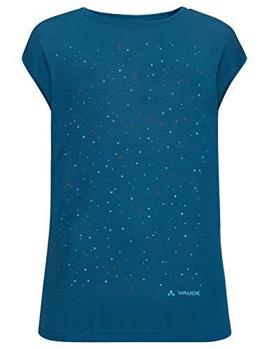VAUDE Damen Tekoa T-Shirt, Kingfisher, 38