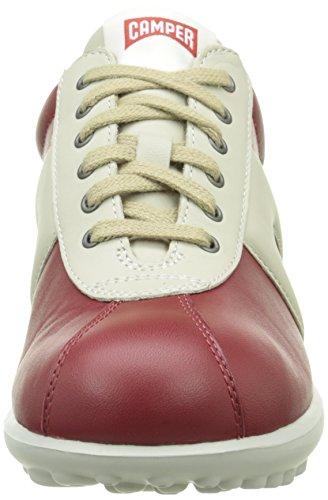 Camper Pelotas Mistol, Baskets Basses Femme Rouge (Medium Red)