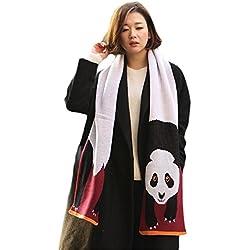 UK_Stone - Bufanda - para mujer panda Talla única