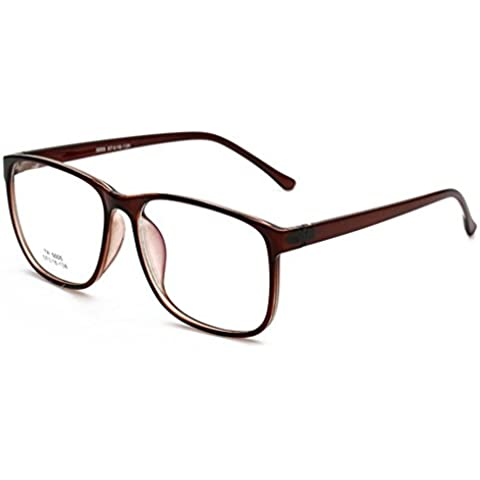 QHGstore Donne Uomini Occhiali di lusso telaio TR occhiali materiale cornice d