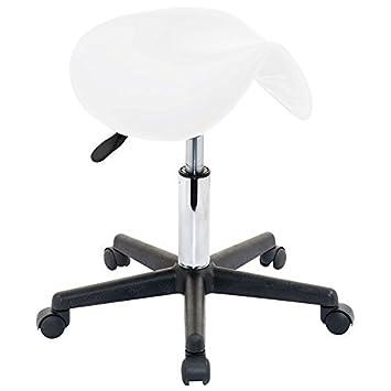 swivel bar stools with wheels vivo perfect massage saddle stool home salon nail bar manicure