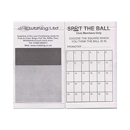 Spot the Ball Cards by ClubKing Ltd