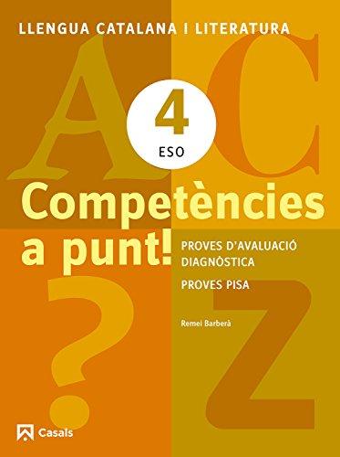 Competències a punt! Llengua catalana i Literatura 4 ESO (Quaderns ESO) - 9788421853160