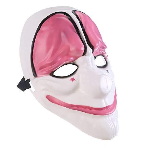 BANYANN Halloween Cosplay DekorScary Maske Maske PVC Zahltag Party Maske für Party Mascara ()