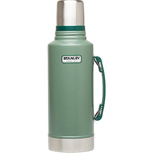 Stanley Classic Vakuum Isolierflasche Edelstahl 2000ml - Thermoskanne mit Griff 2l T-pot