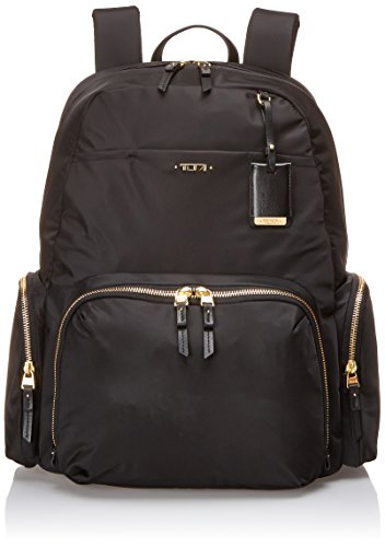 Tumi 0484707D - Mochila, color negro, talla 40 cm