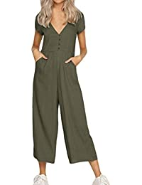 67311693ce Amazon.co.uk  Brown - Jumpsuits   Playsuits   Women  Clothing