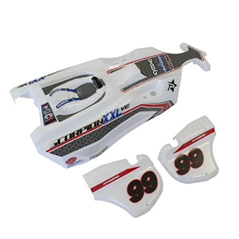 Painted Body Set (T1 / white) SXB001 (japan import)