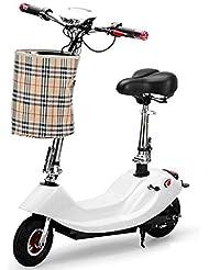 MYYDD E-Scooter Plegable, Scooter eléctrico sin escobillas de Litio 36V / 45-