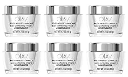 Olay Regenerist Luminous Tone Perfecting Cream, 1.7 oz. (Pack of 6) + Curad Bandages 8 Ct