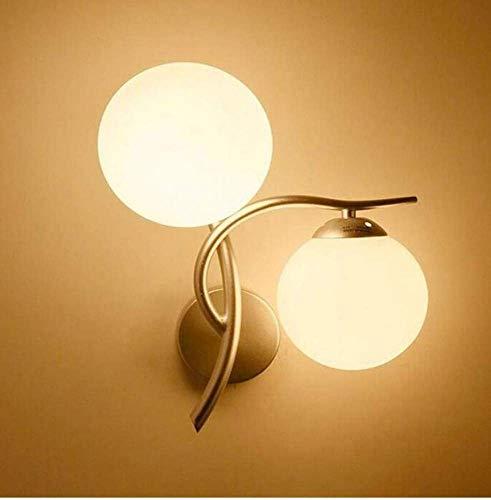 FUSKANG Lampada da lampadario vintage moderno minimalista creativo camera da letto applique da parete soggiorno parete dell'hotel doppio corridoio decorazione della parete luci