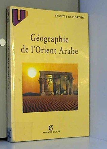 Géographie de l'Orient arabe
