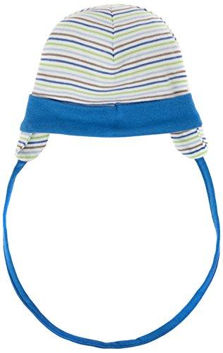 Schnizler Unisex Baby Mütze Erstlingsmütze, Bindemütze mit Ohrenschutz, Oeko-Tex...