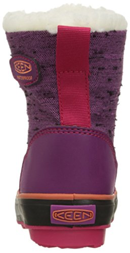KEEN Elsa WP Scarpa invernali da bambino purple wine/tigerlilly