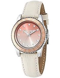 Just Cavalli Damen Uhrenbeweger Collection JUST SUNSET Edelstahl weiss R7251202507