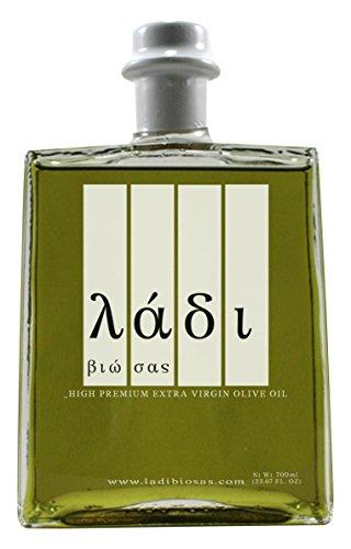 Ladi Biosas Premium Organic Extra Natives Olivenöl, 1er Pack (1 x 700 ml)