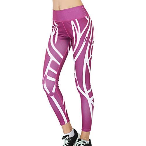ABsoar Yoga Sporthosen Frauen Fitness Gamaschen Hohe Taille Drucken Training Hosen Radlerhose Sexy Streetwear -