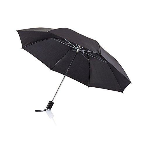 XD Parapluie Pliable Deluxe, 92 cm, 20 Pouces, Noir