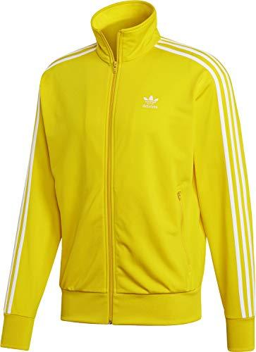 adidas Originals Sweatjacke Herren Firebird TT ED6073 Gelb, - Adidas Trainingsanzug Firebird Herren