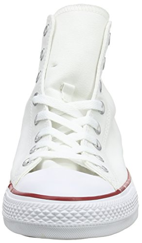 Converse Converse Sneakers Chuck Taylor All Star M7650, Unisex-Erwachsene Hohe Sneakers, Weiß (Optical White), 43 EU (9.5 Erwachsene UK) - 4