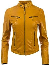 meet caffa f3bd5 Amazon.it: Giallo - Giacche e cappotti / Donna: Abbigliamento