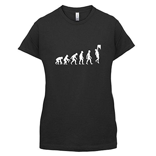 Evolution of Man - Klettern - Damen T-Shirt - 11 Farben Schwarz