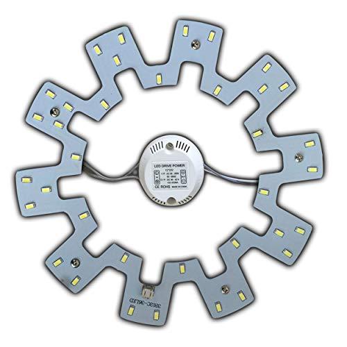 LED Modul 18 Watt warmweiß - Umbau Set für Deckenleuchte Ringlampe Deckenleuchte Rundlampe Röhrenlampe G10q