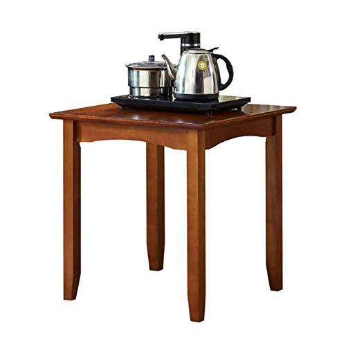 Seite Tee-tabelle (Tische CJC Bedside Tabelle Modern Lager Einheit Lampe Ende Nachttisch Kabinett Kaffee Seite, Nein Schublade (Farbe : Walnut Color))