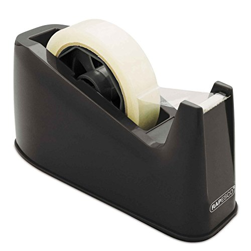 Rapesco 500 Heavy Duty Tape Dispenser, Tape Rolls up to 25 mm x 66 m - Black Test
