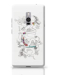 PosterGuy Music Is My Life Illustration Quote OnePlus Two Cover