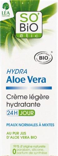So'Bio Etic, Crema idratante giorno 24H, all'estratto