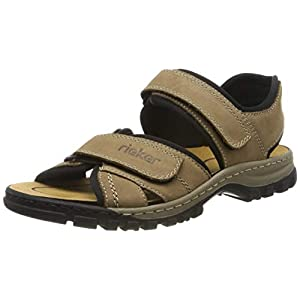 Rieker Herren 25051-20 Geschlossene Sandalen