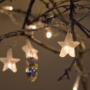 Indoor Star Fairy Lights with 30 LEDs by Lights4fun produced by Lights4fun - quick delivery from UK.