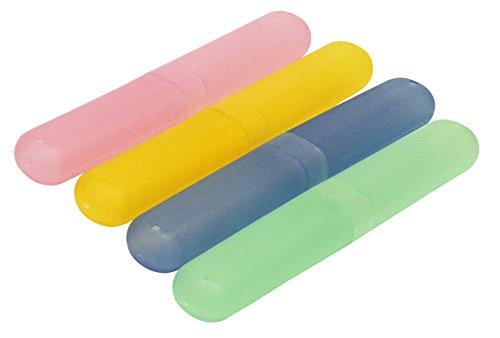 Rolson 4pc Toothbrush Holder Kosmetikkoffer, 22 cm, Mehrfarbig (Multicolour)
