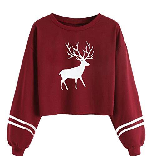 JUTOO Tops Jeans t Shirt Pullover Langarmshirt Damen Longsleeve Longshirt Herren Poloshirt Shirts Sweatshirt Langarm weiß schwarz Basic Ringelshirt carmenshirt wickelshirt(XL)