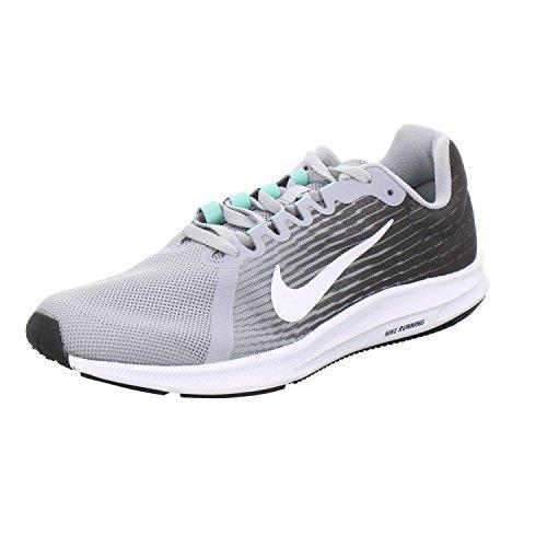 Nike 908984-008 Downshifter 8 Uomo Grigio Bianco US 7 EU 40
