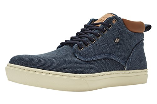 British Knights Wood - Bottines à lacets - homme Bleu marine/cognac