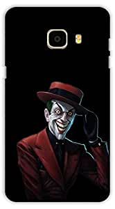 Crazy Beta LAUGHING JOKER 3D DESIGNPrinted Back Cover For Samsung Galaxy C5